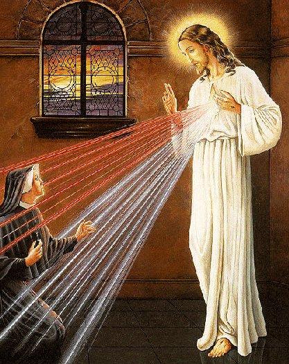 de la Divina Misericordia - Asi se apareció el Señor a la Hermana ...