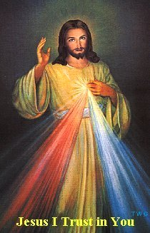 Prayer of entrustment to the Divine Mercy