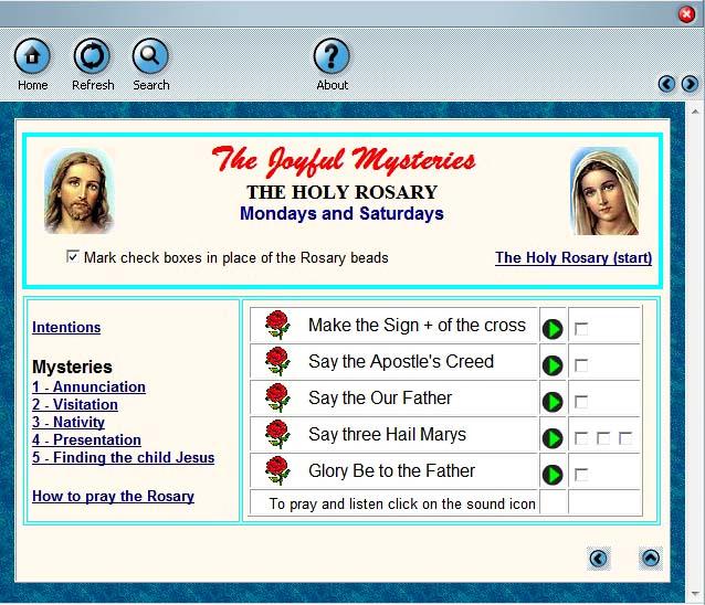 Holy Rosary 1.5 screenshot