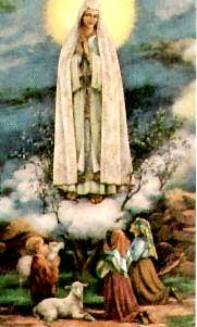 Our Lady of Fatima prayers - Blessed Virgin Mary