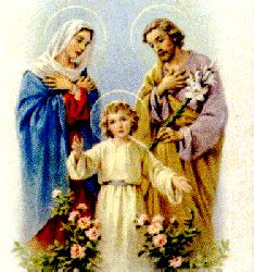 Holy Family of Nazareth - Jesus, Mary and Joseph