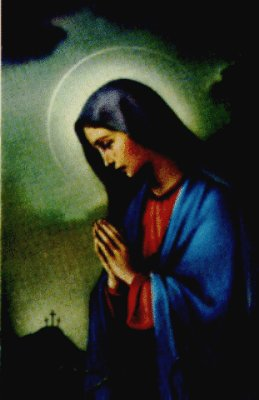 Treasury of Prayers, Catholic inspirations, meditations, reflexions - Sorrowful Mother Mary