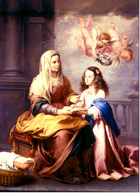 The birth of Mary the Holy Mother of God - Virgin Mary