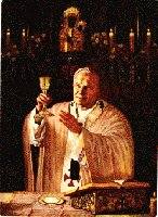 Holy Eucharist - Bread of life, Body and Blood of Christ, Real Presence