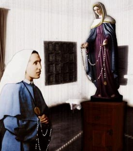 Tears of Our Lady, chaplet, rosary - Sister Amalia
