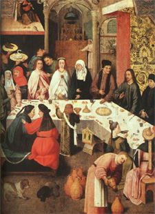 Second Luminous - Mystery of Light - Jesus's Miracle Wedding at Cana - Mary intercedes for those in need. They have no more wine... (John 2:3)