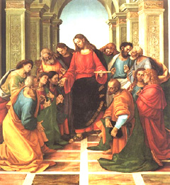 Fifth Luminous Mystery Institution Of Eucharist Holy Rosary