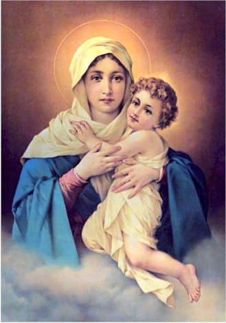 Mother of God - Blessed Virgin Mary