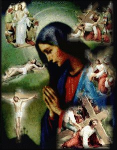 Stations of the cross - Most Holy Desolate Mary